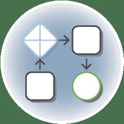 ecm:one Icon Workflowmanagement